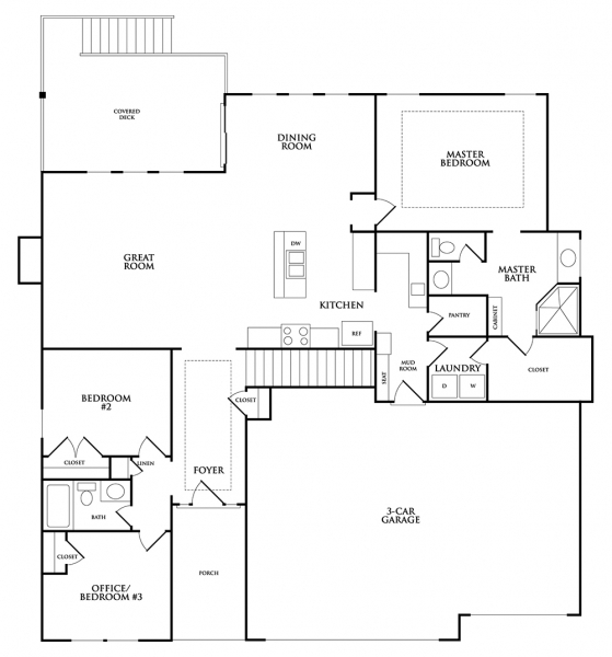 Detached Garage Plan By Mark Stewart Home Design: Home Floor Plans From Mark The Builder Featuring The